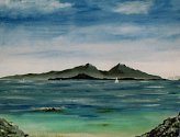 Hugh Isherwood: Scene from Ardnamurchan