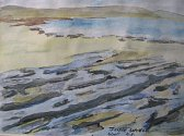 Lorna Pogson: Fanore Beach, The Burren, Ireland