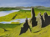 Hugh Isherwood: The Old Man of Storr, Skye